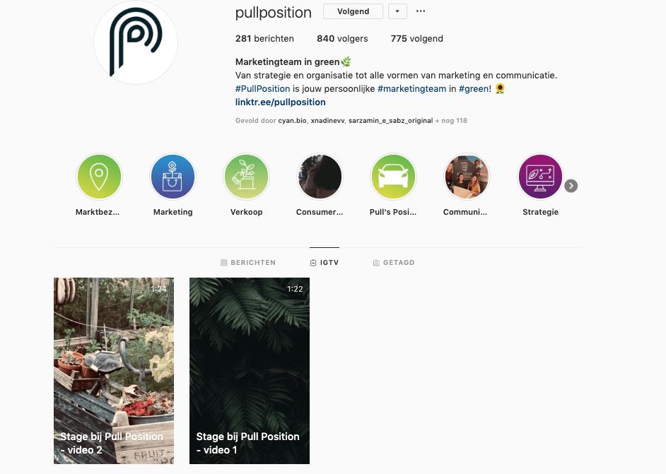 Instagram TV kan je gebruiken voor langere video's van 1 tot 10 minuten.